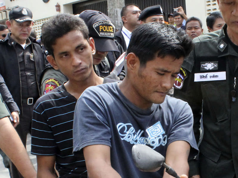 Thai men get life for Aust woman's murder