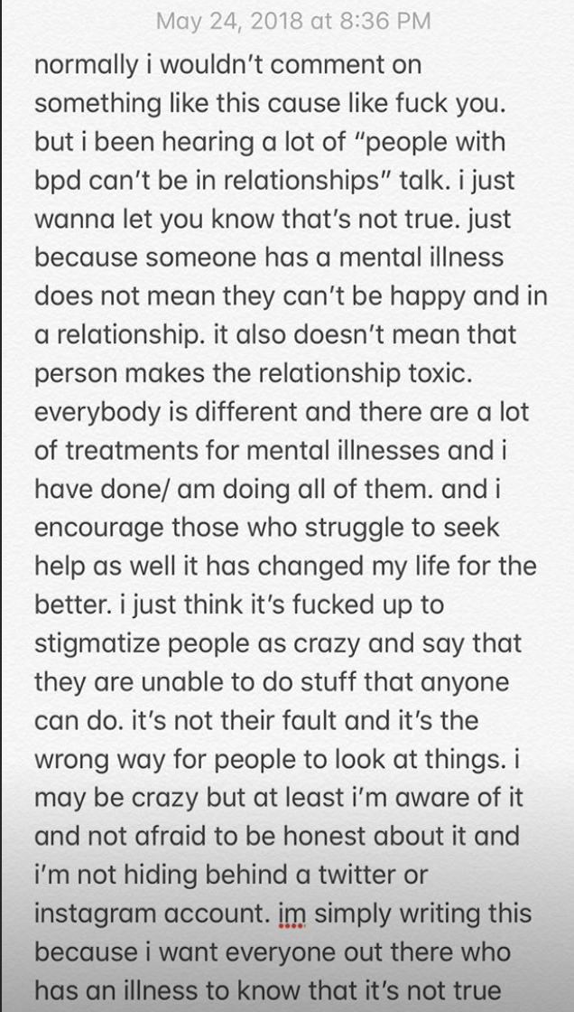 Pete Davidson addressed critics on social media. (Photo: Pete Davidson via Instagram Stories)