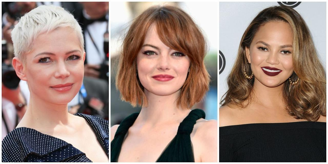 The 12 Best Hairstyles For Round Faces
