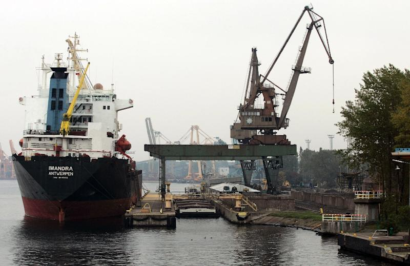 A lawyer has been jailed in Poland for giving Russia information on a new liquefied natural gas terminal at Swinoujscie, whose port is pictured above, on the Baltic coast