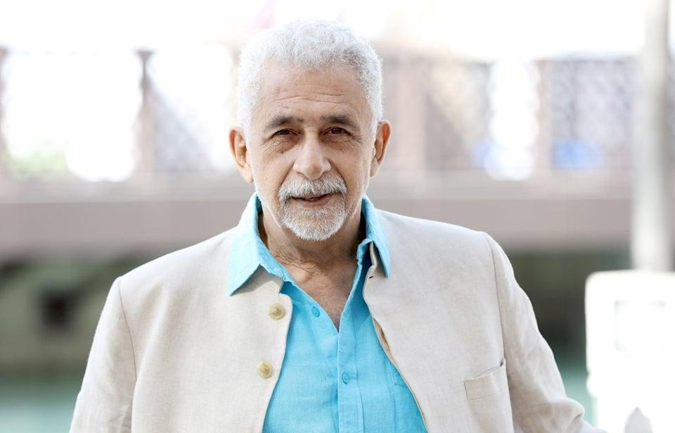 File image: Naseeruddin Shah at a photocall during day three of the 12th annual Dubai International Film Festival in 2015 (Getty Images)