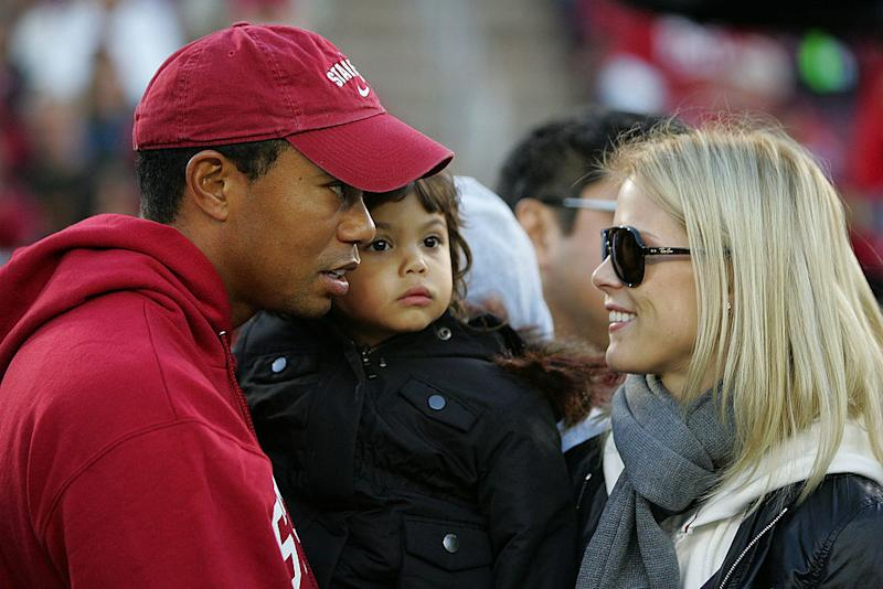 Tiger Woods and Elin Nordegren divorced after Woods' 2009 cheating scandal. Source: Getty