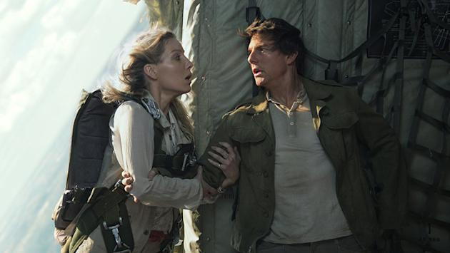 Horror, adventure, stunts on display in Cruise's 'The Mummy'