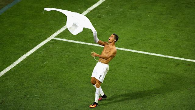 Cristiano Ronaldo Real Madrid Atletico Champions League final