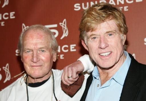 "Actors Paul Newman (L) and Robert Redford -- shown here at the Sundance Institute 25th Anniversary celebration in New York in 2006 -- co-starred in ""Butch Cassidy and the Sundance Kid"" and ""The Sting"""