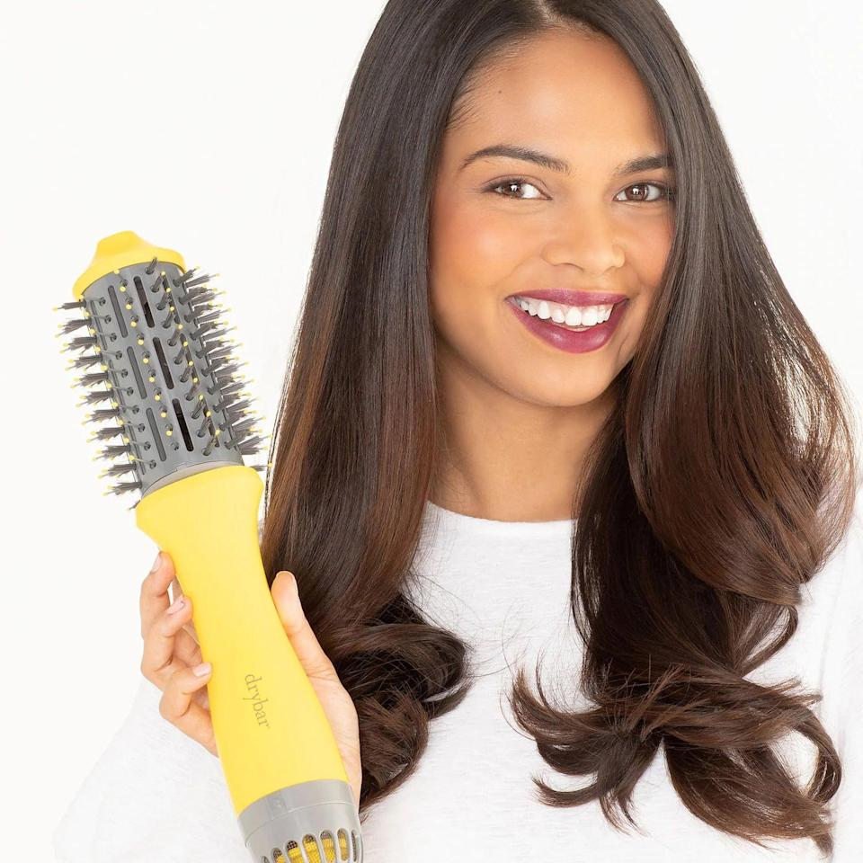 <p>Get the salon blowout at home with this <span>Drybar The Single Shot Blow-Dryer Brush</span> ($150). </p>