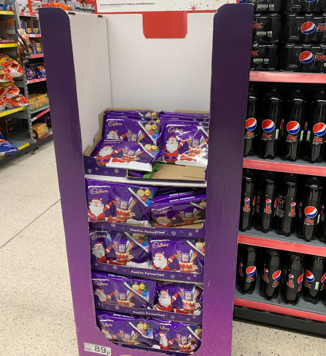 Christmas selection boxes are appearing on shelves across the UK. (Image supplied: Nicola Oakley)