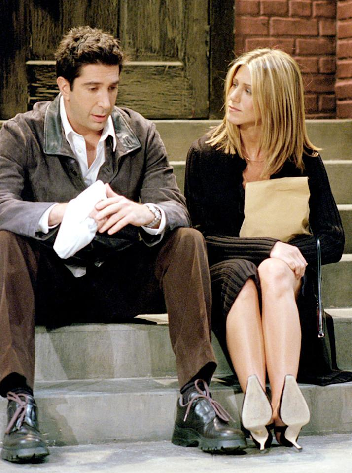 "Ross and Rachel, ""Friends"""