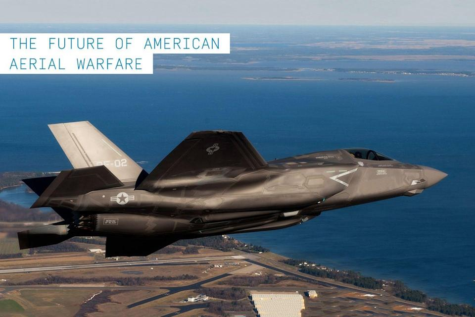 """<p>Many modern fighters currently in active military roles began production in the 1970's. As many of these aircraft are reaching the end of their service life, <a href=""""https://www.popularmechanics.com/military/a230/1281471/"""" rel=""""nofollow noopener"""" target=""""_blank"""" data-ylk=""""slk:the F-35 program is the key to replacing the Pentagon's aging"""" class=""""link rapid-noclick-resp"""">the F-35 program is the key to replacing the Pentagon's aging</a> warplanes with what is supposed to be an affordable alternative. The <a href=""""https://www.popularmechanics.com/military/aviation/a35281371/f-35-history/"""" rel=""""nofollow noopener"""" target=""""_blank"""" data-ylk=""""slk:F-35"""" class=""""link rapid-noclick-resp"""">F-35</a> represents an entirely new class of fifth-generation fighter aircraft. Three variations of the fighter (the F-35A, B, and C) were developed to replace the U.S. military's aging fleet of F-16s, <a href=""""https://www.popularmechanics.com/military/aviation/a24538/f-a-18-badass-plane/"""" rel=""""nofollow noopener"""" target=""""_blank"""" data-ylk=""""slk:F/A-18s"""" class=""""link rapid-noclick-resp"""">F/A-18s</a>, <a href=""""https://www.popularmechanics.com/military/a18236/why-the-a-10-warthog-is-such-a-badass-plane/"""" rel=""""nofollow noopener"""" target=""""_blank"""" data-ylk=""""slk:A-10s"""" class=""""link rapid-noclick-resp"""">A-10s</a>, and AV-8B Harrier jump jets.</p><p>Of course, controversy has dogged the design and development of the single-seat, single-engine multirole fighter. At nearly $400 billion for 2,457 aircraft, the price has doubled the original estimates and delays to the development program have surpassed three years. In addition to cost overruns, the F-35 has been hammered by some aviation experts who say that the plane designed to do everything for multiple branches of the military is really great at anything.</p><p><strong>✈ <a href=""""https://www.popularmechanics.com/military/aviation/a35281371/f-35-history/"""" rel=""""nofollow noopener"""" target=""""_blank"""" data-ylk=""""slk:Why the F-35 Is Such a Badass Plane"""" class=""""link """