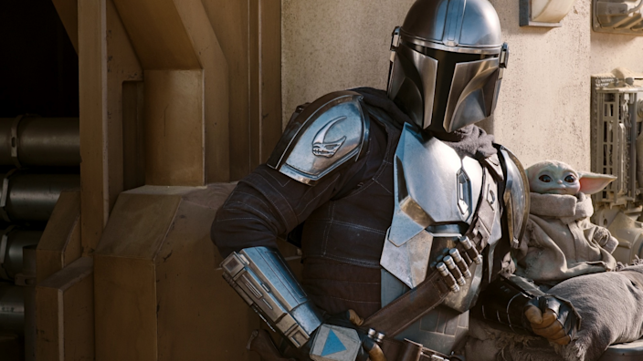 The Mandalorian is streaming on Disney+.