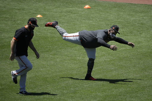 Giants return, so do some players, but Padres' INF Mateo out