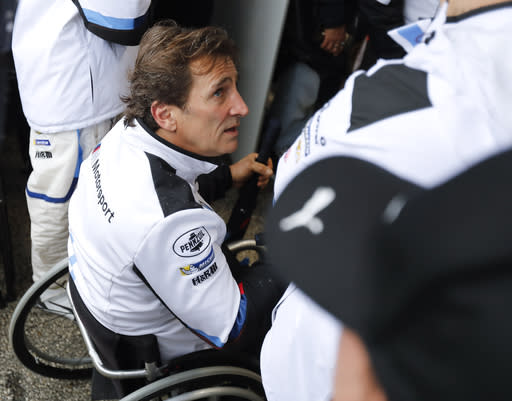 Zanardi showing signs of interaction 3 months after crash