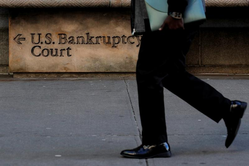 A arrives at the U.S. District Bankruptcy Court for the Southern District of New York in Manhattan, New York, U.S., January 9, 2020. REUTERS/Brendan McDermid