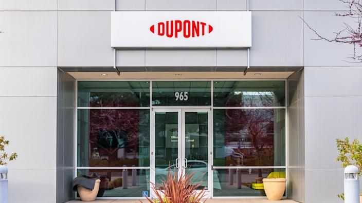 March 8, 2020 Sunnyvale / CA / USA - DuPont Silicon Valley Technology & Innovation Center offices; DuPont de Nemours, Inc is an American company operating in the chemicals industry;.