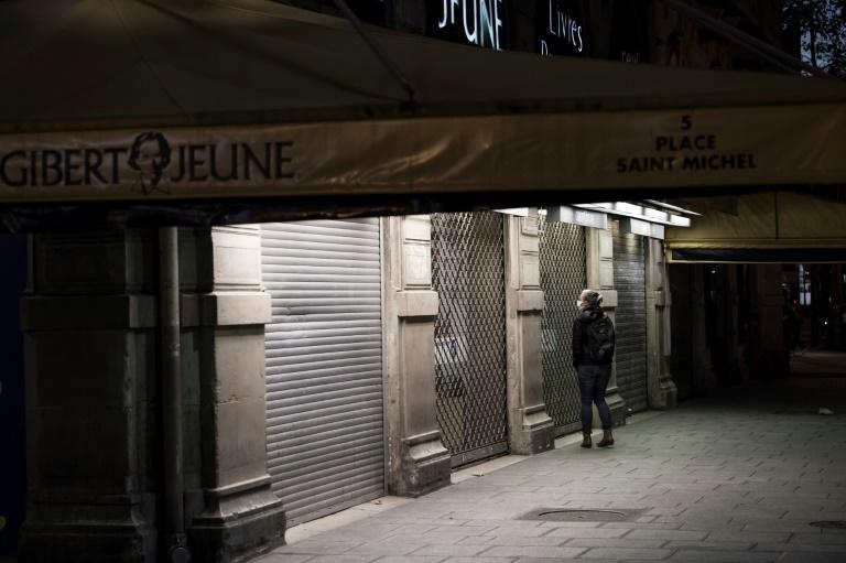 "Unlike in Belgium or Switzerland, which have issued their own stay-at-home orders, bookshops were among businesses classified ""non-essential"" under France's latest lockdown decree"