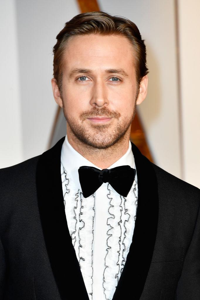 Ryan Gosling on the Oscars red carpet. (Photo: Getty Images)