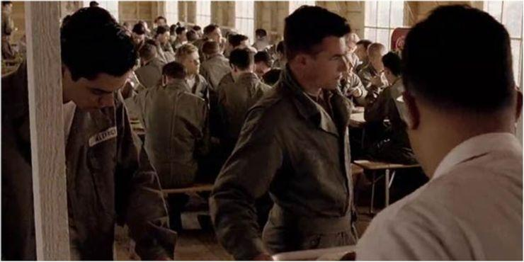 """<p>It might be stretching it to even describe Cooper's single episode appearance (in the opening episode, """"Currahee"""") as a cameo, given that it's so brief as to teeter into """"extra"""" territory (we couldn't spot him on rewatching but are assured that's him on the far left), but his character did have a name – Allington – and it no doubt looked good on his CV given he's gone on to star in Mamma Mia!, Preacher, and, next up, in Spaghetti Western That Dirty Black Bag.</p>"""