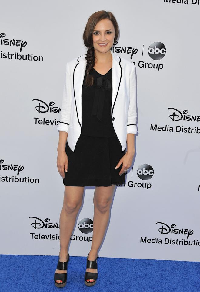 BURBANK, CA - MAY 19:  Actress Rachael Leigh Cook arrives at the Disney Media Networks International Upfronts at Walt Disney Studios on May 19, 2013 in Burbank, California.  (Photo by Angela Weiss/Getty Images)