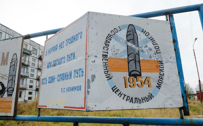 A military garrison is located near the village of Nyonoksa in Arkhangelsk - REUTERS