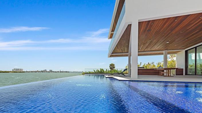 The pool - Credit: Photo: Courtesy of ONE Sotheby's International Realty
