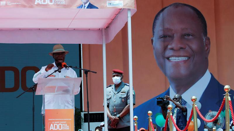 Côte d'Ivoire court clears President Ouattara's contentious third-term bid