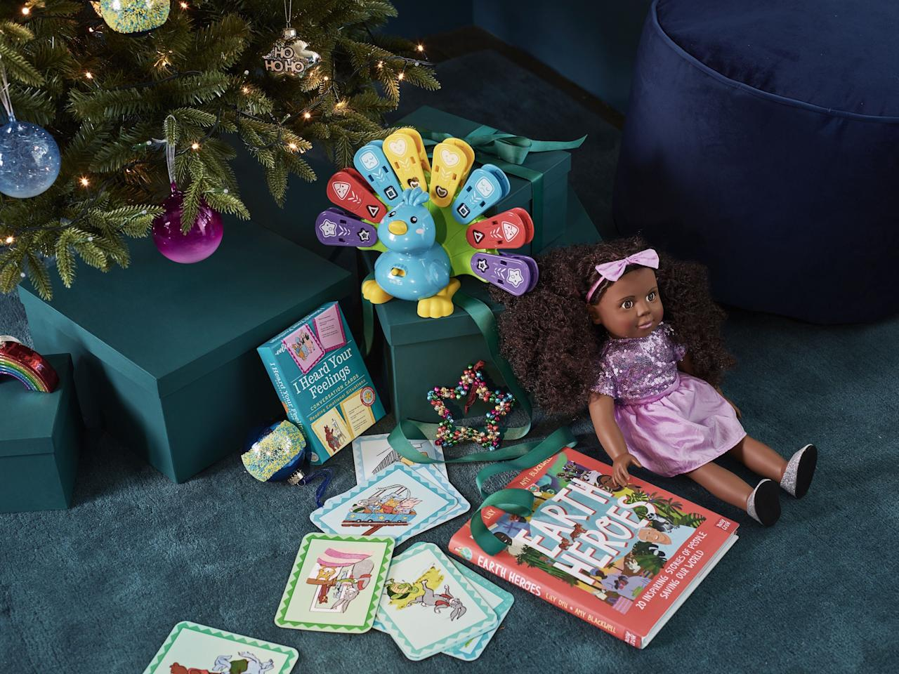 "<p><span class=""redactor-unlink"">Christmas</span> is still months away, but <span class=""redactor-unlink"">John Lewis</span> has already rounded-up the toys that kids will be hoping to find under the tree this year. Some of the key themes for this year include sustainability, climate change and educational games. </p><p>'This year is driven by the importance of learning through play and enhancing communication skills through interaction with toys as children have adapted to playing in smaller groups and with siblings,' the team at John Lewis says. </p><p>'We have already seen a 106% increase in sales of electronic toys this year and are introducing Botley 2.0, Brio Smart Tech Sound and VTech Feathers and Feelings Peacock in time for Christmas. All are expected to be among sought-after gifts this season as parents look for different ways to keep children entertained whilst also learning new skills and tools.'</p><p>Take a look at the top 10 toys below...</p>"
