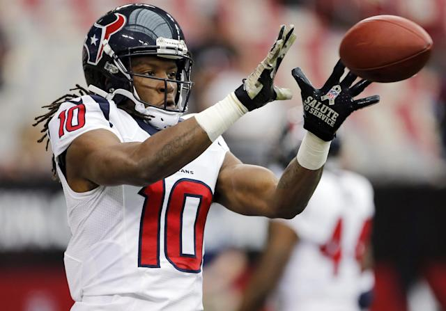 First Down: Andre's angst has Hopkins rising on fantasy draft boards