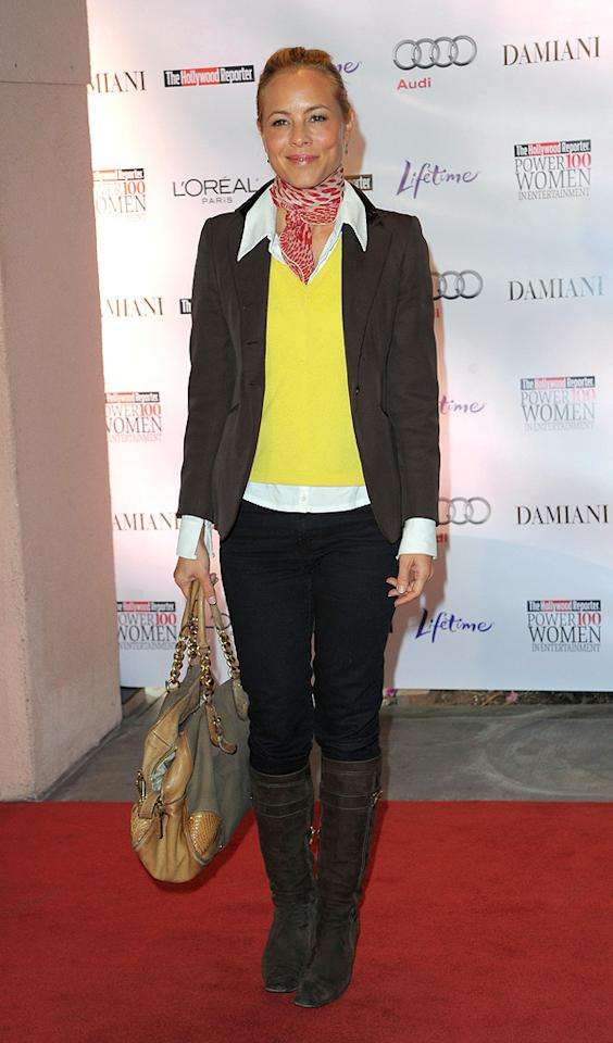 """<a href=""""http://movies.yahoo.com/movie/contributor/1800019251"""">Maria Bello</a> at the Hollywood Reporter's Annual Women in Entertainment breakfast in Beverly Hills, CA - 12/04/2009"""