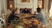 "<p>""Well, are you spending Thanksgiving with your family? We have a ramble turkey… Eat all you want."" — Leigh Anne Tuohy</p>"