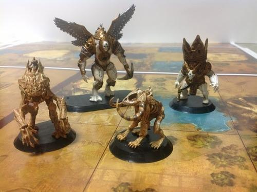 Golem Arcana playing figures