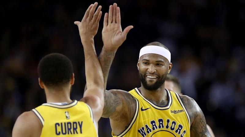 Warriors' DeMarcus Cousins 'On Course' to Return for Western Conference Finals
