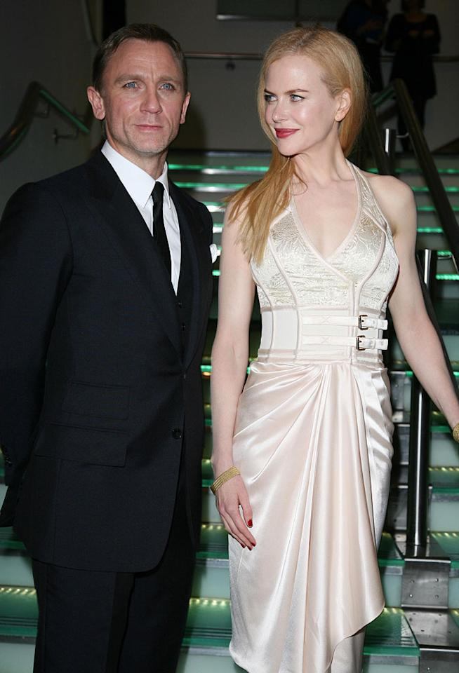 "Daniel Craig and Nicole Kidman at ""The Golden Compass"" world premiere at the Odeon Leicester Square in London, England. Davidson/<a href=""http://www.infdaily.com"" target=""new"">INFDaily.com</a> - November 27, 2007"