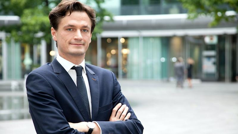 Maciej Markowski, chief executive of spaceOS, a start-up based in Warsaw.