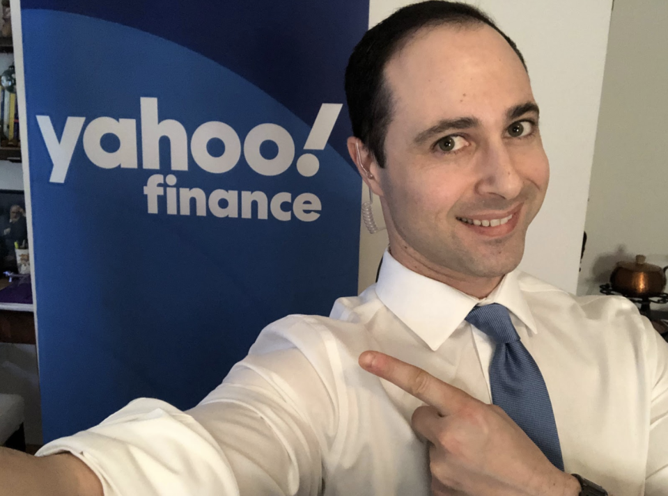 Yahoo Finance editor-at-large Brian Sozzi checking in from home this week.