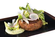 <p>Starting in Baltimore, Maryland, crab cakes became super popular all over the country, and by 1997 they were seen on several menus. We're glad—they're delicious!</p>