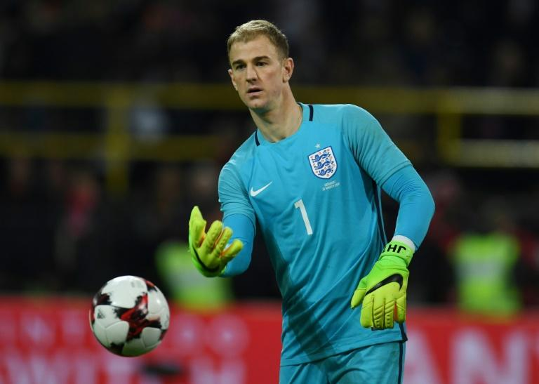 England´s Joe Hart is currently on loan with Serie A side Torino after being banished by City manager Pep Guardiola