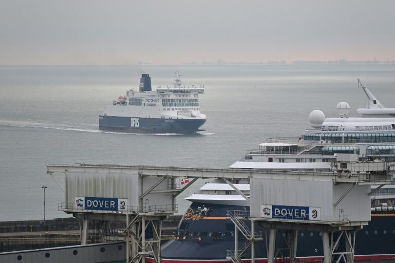 The UK government is concerned that truckers will turn up at Dover without the proper paperwork, causing delays