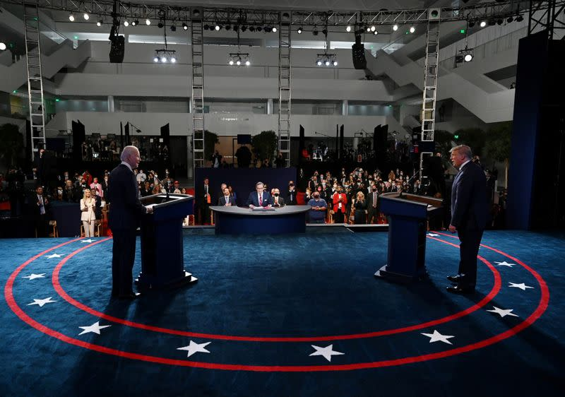 2020 presidential campaign debate in Cleveland