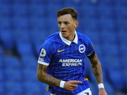 <p>Ben White is a target for Liverpool</p> (Getty)