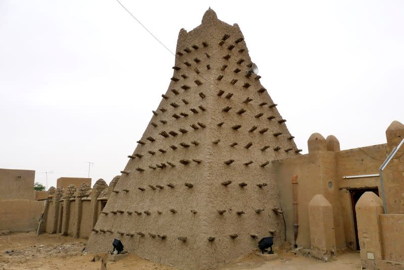 FILE PHOTO: A traditional mud structure stands in Timbuktu