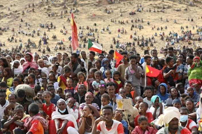 Ethiopians have fled the Tigray fighting to neighbouring Sudan