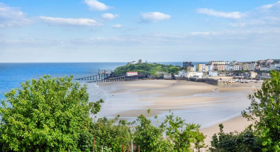 South Beach at The Hideaway can be found in picturesque Tenby (Sykes Cottages)