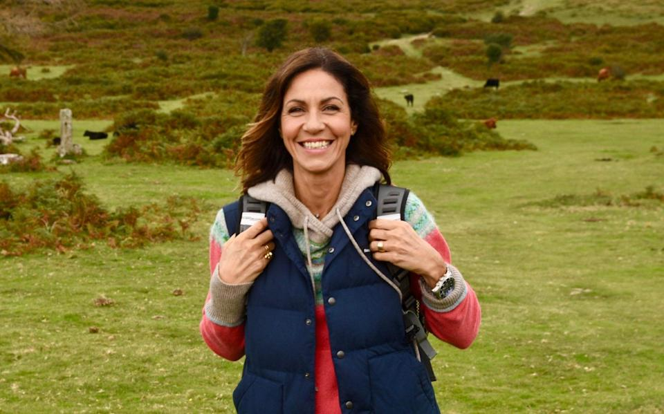 Julia Bradbury's diagnosis followed a mammogram she booked on an annual recall, having last year found a lump which proved to be a cluster of benign micro-cysts. - ITV