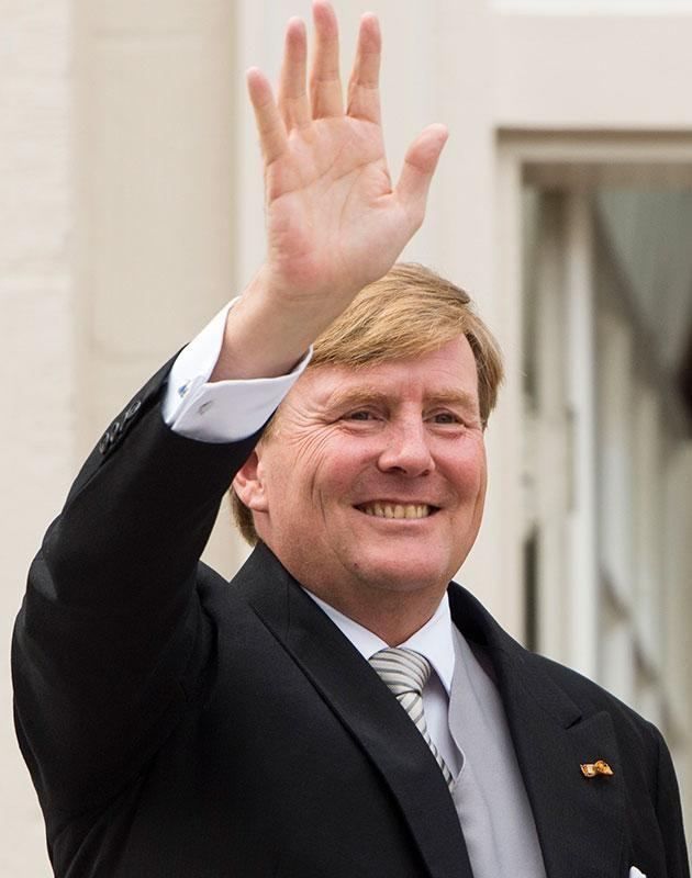 She'll meet King Willem-Alexander of the Netherlands. Source: Getty