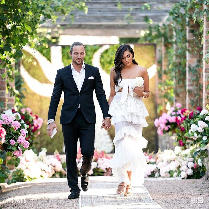 MAFS' Connie and Jonethen leave the final vow ceremony