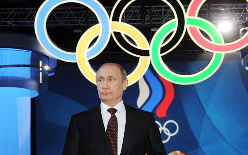 Russia is in danger of being banned from the 2018 Winter Olympics - AP2011