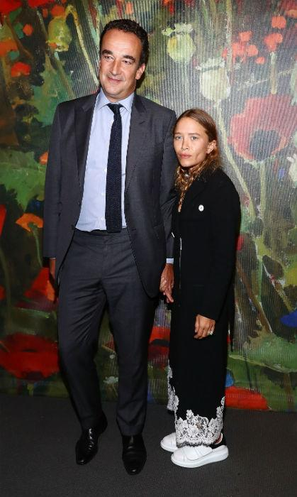 Mary-Kate and her husband Olivier Sarkozy