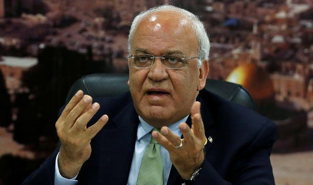 'You killed two-state solution': Top Palestinian says Israeli deal with UAE destroys peace hopes