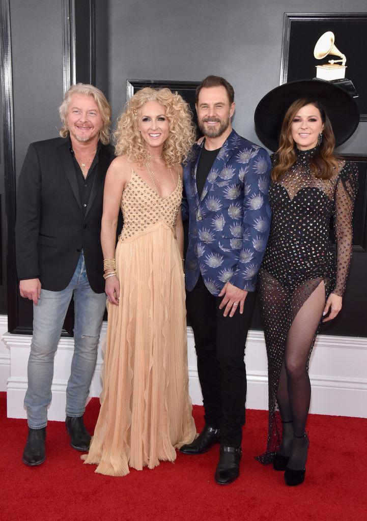 <p>Little Big Town attends the 61st annual Grammy Awards at Staples Center on Feb. 10, 2019, in Los Angeles. </p>