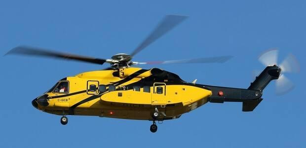 This Sikorsky S-92A was involved in the near-crash close to Sable Island in 2019.  (Transportation Safety Board - image credit)